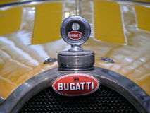 Tank cap of an old Bugatti type 45. Detail tank cap of an old Bugatti type 45 Stock Photo