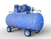 Tank car. 3D illustration of a tank car Stock Photo