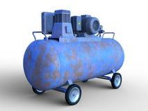 Tank car. 3D illustration of a tank car Stock Photos
