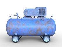 Tank car. 3D illustration of a tank car Royalty Free Stock Image