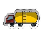 Tank car isolated icon. Illustration design Stock Photos
