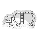 Tank car isolated icon. Illustration design Stock Photo