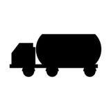 Tank car isolated icon. Illustration design Royalty Free Stock Photo