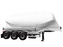 Tank car trailer Stock Photo