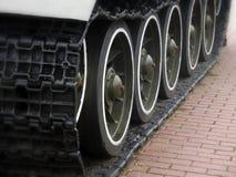 Tank Caterpillar Tread Stock Image