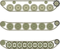 Tank caterpillar Royalty Free Stock Images