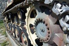 Tank caterpillars Royalty Free Stock Images