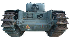 Tank in color stock photo