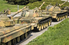 Tank column Royalty Free Stock Photo