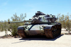 Tank in Desert Stock Images