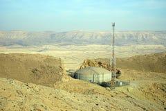 Tank en antenne Stock Foto