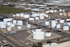 Tank Farm Royalty Free Stock Image