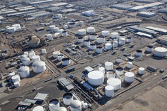 Tank Farm Royalty Free Stock Photos