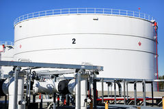 Tank Farm Stock Image