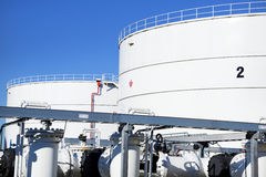 Tank Farm Stock Photos