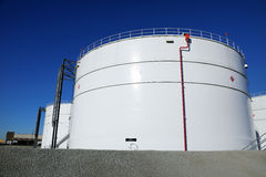 Tank Farm Royalty Free Stock Images