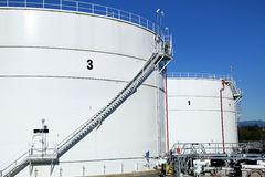 Tank Farm Royalty Free Stock Photo