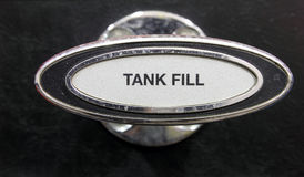 Tank Fill Lever Stock Image
