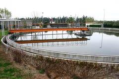tank flokulacja Fotografia Stock