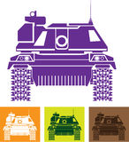 Tank Front Royalty Free Stock Images