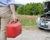 Tank fuel car Stock Images