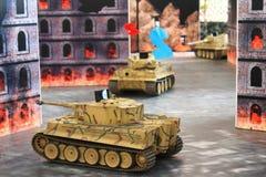 Tank game Royalty Free Stock Photo