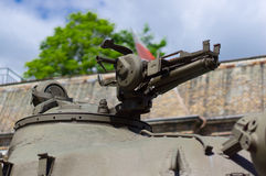 Tank gun Royalty Free Stock Photography