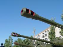 Tank guns Royalty Free Stock Images