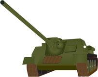 Tank. A Heavy World War 2 Tank isolated on white Stock Photos