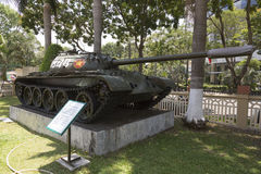 Tank in Ho Chi Minh city Royalty Free Stock Image