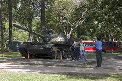 Tank 390 in Ho Chi Minh Royalty Free Stock Images