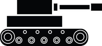 Tank icon  illustration Royalty Free Stock Photo