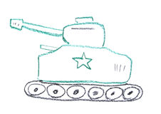 Tank illustration Stock Photography