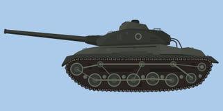 Tank illustration. Stock Image