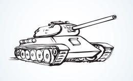 tank Illustrazione di vettore royalty illustrazione gratis