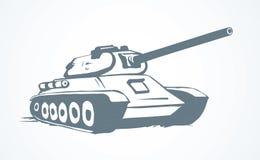 tank Illustrazione di vettore illustrazione di stock