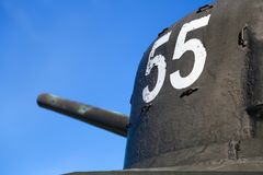Tank Juno Beach. Tank at Juno Beach in Normandy, France royalty free stock images