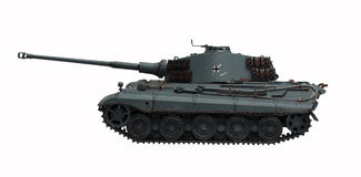 Tank King Tiger 2. The model tank King Tiger 2 of WW2 Royalty Free Stock Photos