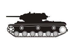 Tank kv-1 Stock Afbeelding
