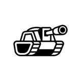 Tank logo illustration Stock Photo