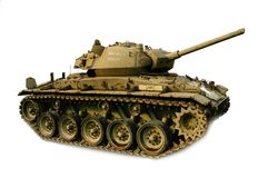 Tank, M-26 Chaffee Royalty Free Stock Photography