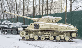 Tank M50(M4A3) Royalty Free Stock Photography