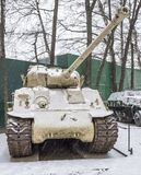 Tank M50(M4A3) Stock Photo