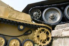 Tank memorial detail - Slovakia Royalty Free Stock Image