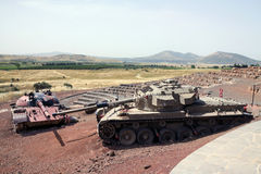 Tank Memorial Royalty Free Stock Photo