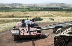 Tank Memorial Stock Photo