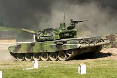Tank. Military tank attack the enemy Stock Photography
