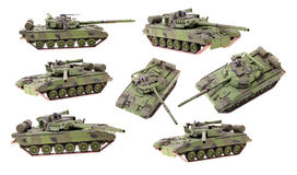 Tank model Royalty Free Stock Image
