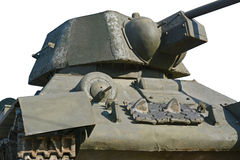 The tank model Stock Photography