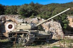 Tank of Mount Soratte Royalty Free Stock Photo
